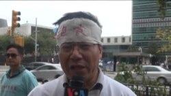 王炳章家人联合国绝食请愿 同囚活动或延港台