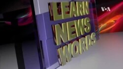 VOA News Words Today: Embargo