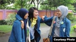 Para mahasiswa dari berbagai daerah di Indonesia. (Foto: Dok)