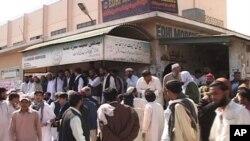 تربت میں ہلاک ہونے والے مزدوروں کی کراچی میں نمازِ جنازہ
