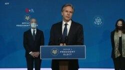 Biden-Harris Umumkan Tim Keamanan dan Politik LN