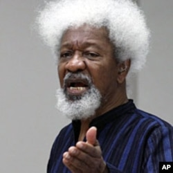 Nigerian writer and Nobel Laureate Wole Soyinka in Pretoria, February 1, 2012.