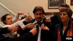 El subsecretario de Medios de la Nación, Alfredo Scoccimarro, informó sobre los cambios en el gabinete.