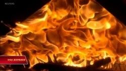 Hy Lạp: Cháy lớn, ít nhất 74 người chết