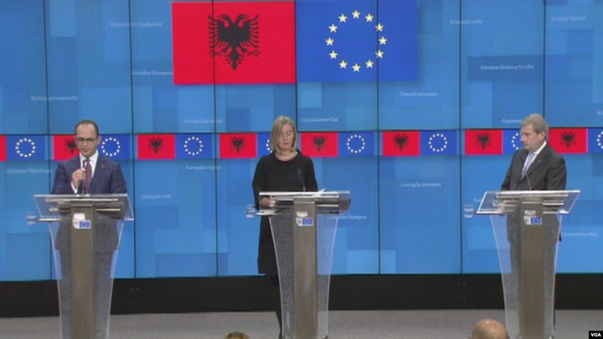 BE  Shqipëria të thellojë ritmin aktual të reformave