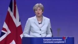 英國和歐盟就英國脫歐條件取得突破