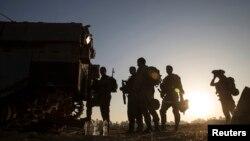 Tentara Israel di perbatasan Gaza ketika pecah perang di wilayah itu, 30 Juli 2014.
