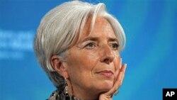 IMF總裁拉加德。
