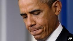 Tổng thống Obama nói đóng cửa chính phủ là cao điểm của tình trạng vô trách nhiệm, và gây trở ngại cho nền kinh tế đang phục hồi.