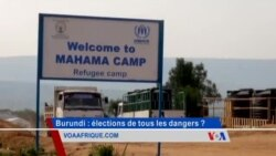 Des réfugiés burundais dans le camp de Mahama au Rwanda