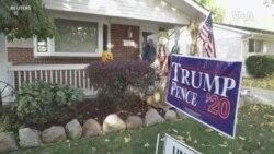 密歇根選民政治觀點分歧 並不妨礙做好鄰居