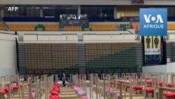 Thaïlande: la Bangkok Arena transformée en hôpital avec des lits en carton