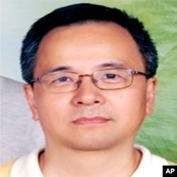 台湾政治大小教授金荣勇