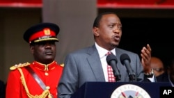 Shugaban kasar Kenya Uhuru Kenyatta.
