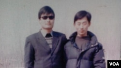 陳克貴與陳光誠的合影