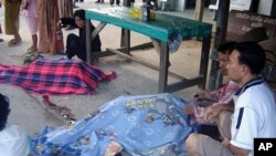 کشته شدن پنج راهب بودایی در تایلند