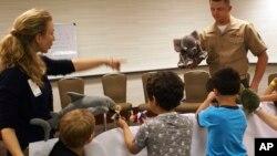 Семейная арт-терапия для детей военных
