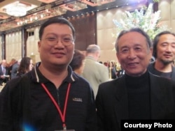 野渡(左) (博讯网)