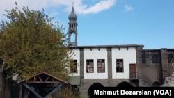 Sarp Giragos Ermeni Kilisesi'nin çatışmalardan sonraki durumu