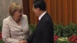 德国总理默克尔今年第二次访华