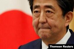 아베 신조 전 일본 총리.