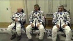 سه فضانورد آمریکا و روسیه وارد ایستگاه فضایی بین المللی شدند