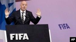 Gianni Infantino, Shugaban hukumar FIFA