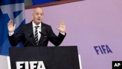 Presiden FIFA, Gianni Infantino. (Foto: dok).