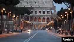 Vue du Colisée de Rome