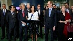 نیکی هیلی، نماینده آمریکا در سازمان ملل متحد