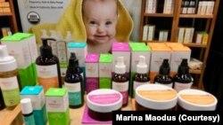 Marina i Endi su sada investitori u kompaniji Mambino Orgeniks.
