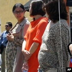 聲援陳光誠的中國孕婦