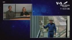 """馬遜創始人貝佐斯完成太空旅行 稱""""這是最棒的日子"""