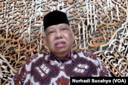 Cendekiawan muslim Prof Azyumardi Azra. (Foto: VOA/Nurhadi Sucahyo)