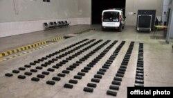 Azərbaycan gömrükçüləri 108 kiloqram heroin götürüb