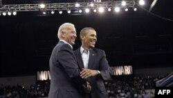 Prezident Barak Obama vitse-prezident Jo Bayden bilan
