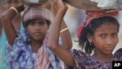 India se encuentra la parte superior de la lista con cerca de 14.290.000 personas esclavizadas.