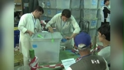 Chaotic Afghan Vote Recount Threatens Nation's Future