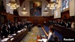 عالمی عدالت انصاف کا ایک منظر، فائل فوٹو