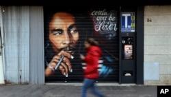 Foto atis Rege trè selèb nan lemond, Bob Marley