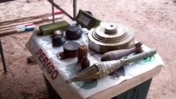 Grande quantidade de explosivos e armas encontrados em Malanje - 1:47