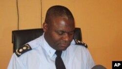 Comandante da Polícia Nacional em Malanje, comissário José Domingos Moniz