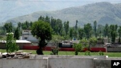 Guriga Osama Bin Laden ee Abbuttabad, Pakistan.