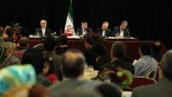 همه همراهان محمود احمدی نژاد در خیابان ۵۴ ام نیویورک