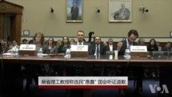 """麻省理工教授称选民""""愚蠢"""" 国会听证道歉"""