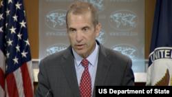 Juru bicara Departemen Luar Negeri Amerika Serikat, Mark Toner (Foto: dok).