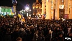 Площадь независимости, Киев, 22 ноября 2012 г.