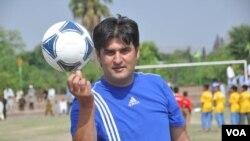 سید علی کاظمی، مسئول کمیته فوتبال جوانان و سخنگوی تیم ملی فوتبال افغانستان