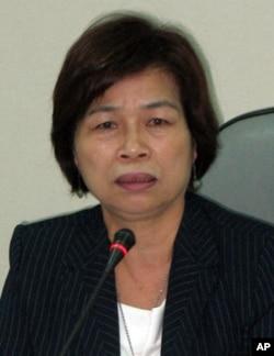 民進黨立委翁金珠6月22號評陸客自由行