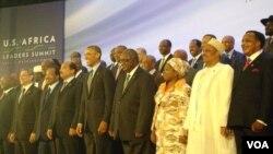 baadhi ya viongozi wa Afrika walohudhuria mkutano wa kihistoria na Rais wa Marekani Barack Obama.